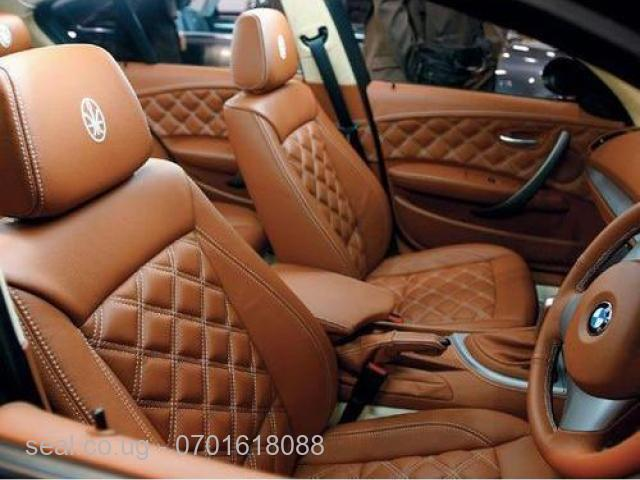 Car Leather Seat Covers - 1